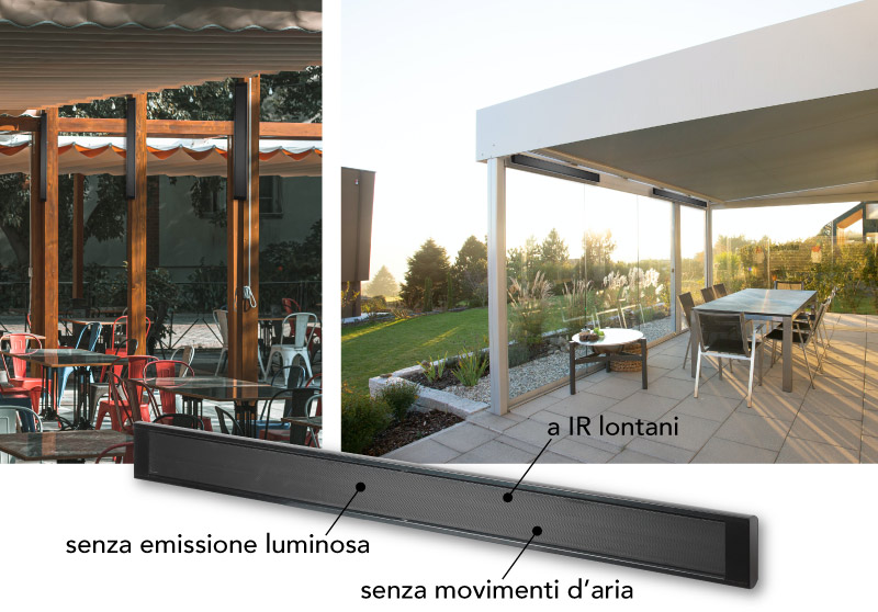 terrace heater riscaldamento esterni