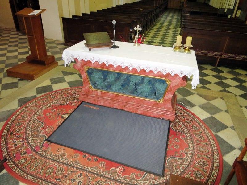 athitalia tappeto riscaldante winter mat sotto altare1