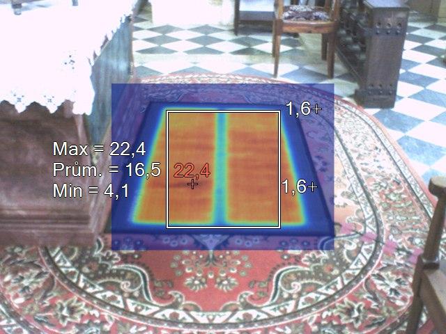 athitalia tappeto riscaldante winter mat sotto altare2